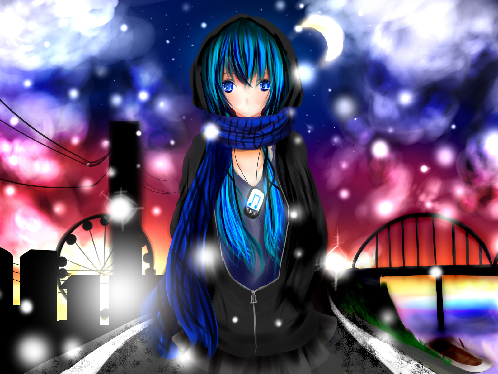 blue, eyes, mikuo, hatsune, vocaloid