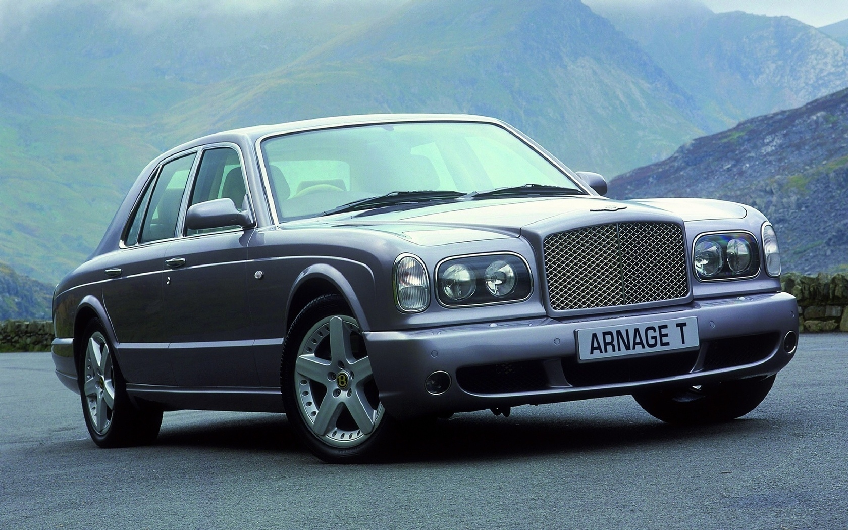 дорога, горы, arnage, bentley