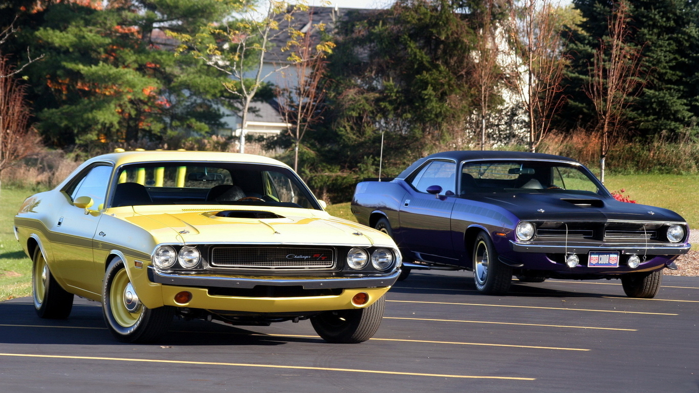 dodge, muscle cars, plymouth
