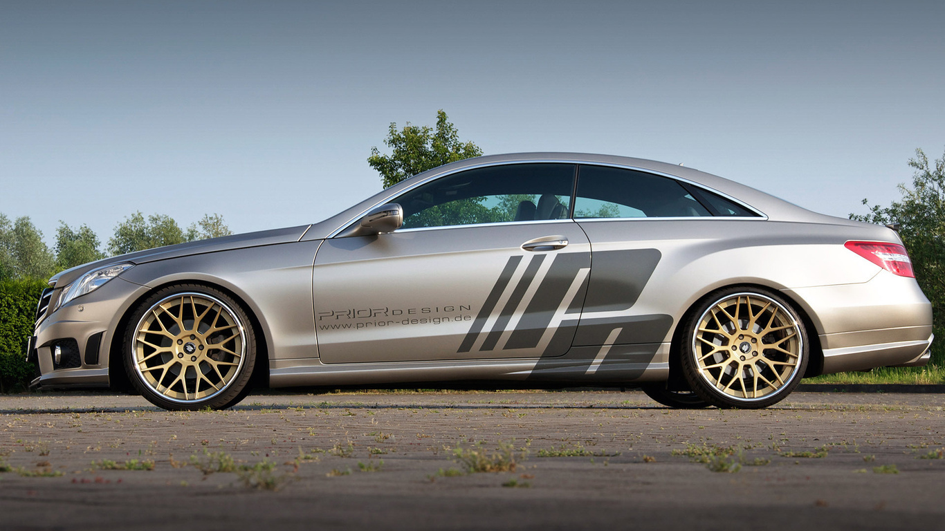 1920x1200, tuning, car, prior design, mercedes e-class coupe c207, машина