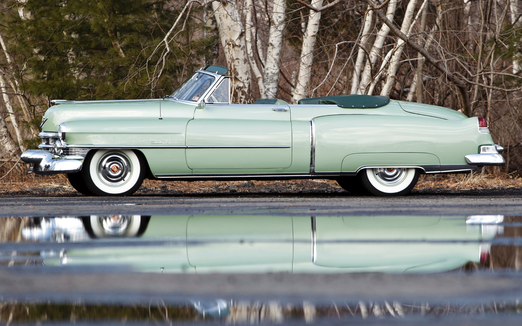 car, cadillac, sixty-two convertible