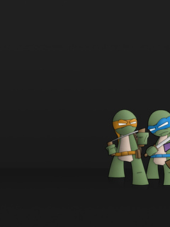 background, ninja, turtles