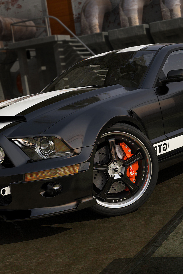 авто обои, мустанг, ford, auto wallpapers, тачки, mustang, cars
