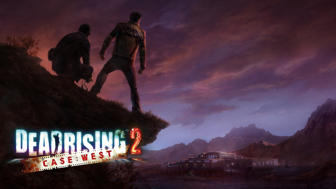 зомби, case west, dead rising