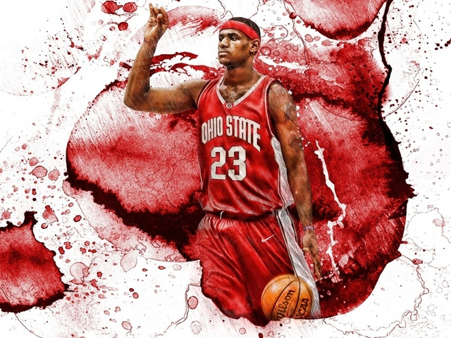 баскетбол, спорт, chosen one, osu college, леброн джеймс, lebron james