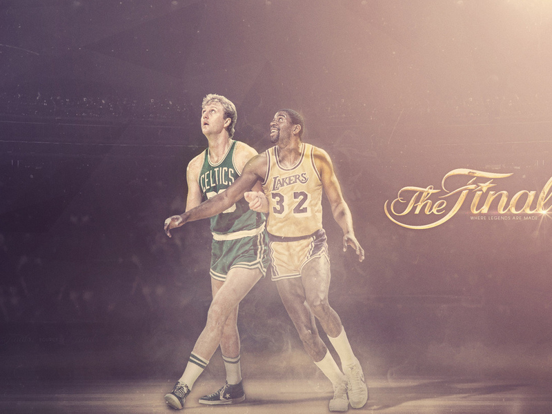 larry bird, boston, los angeles, earvin johnson, lakers, magic johnson, ларри берд