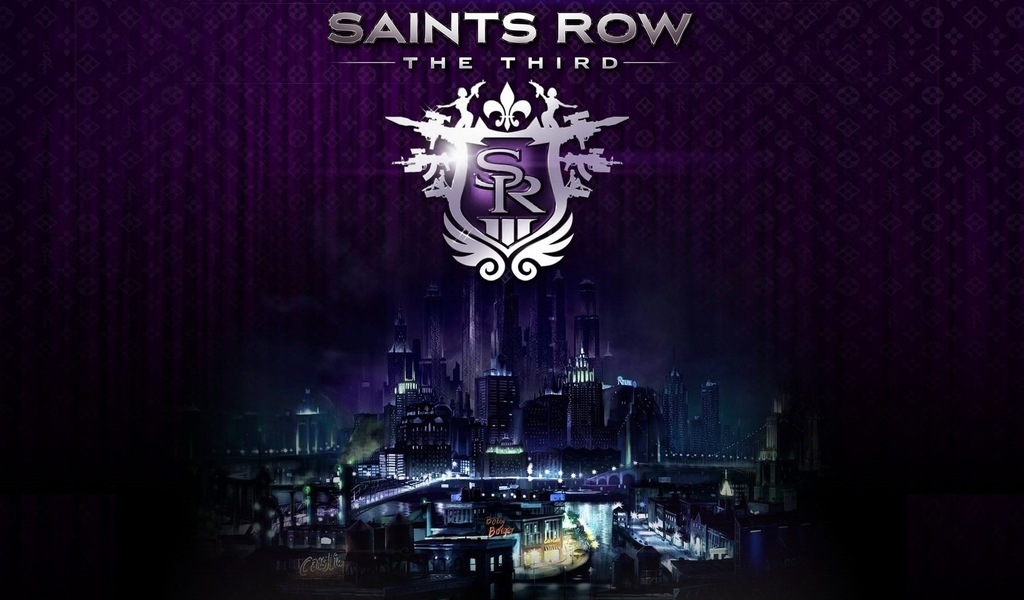 the third, логотип, стилпорт, saints row