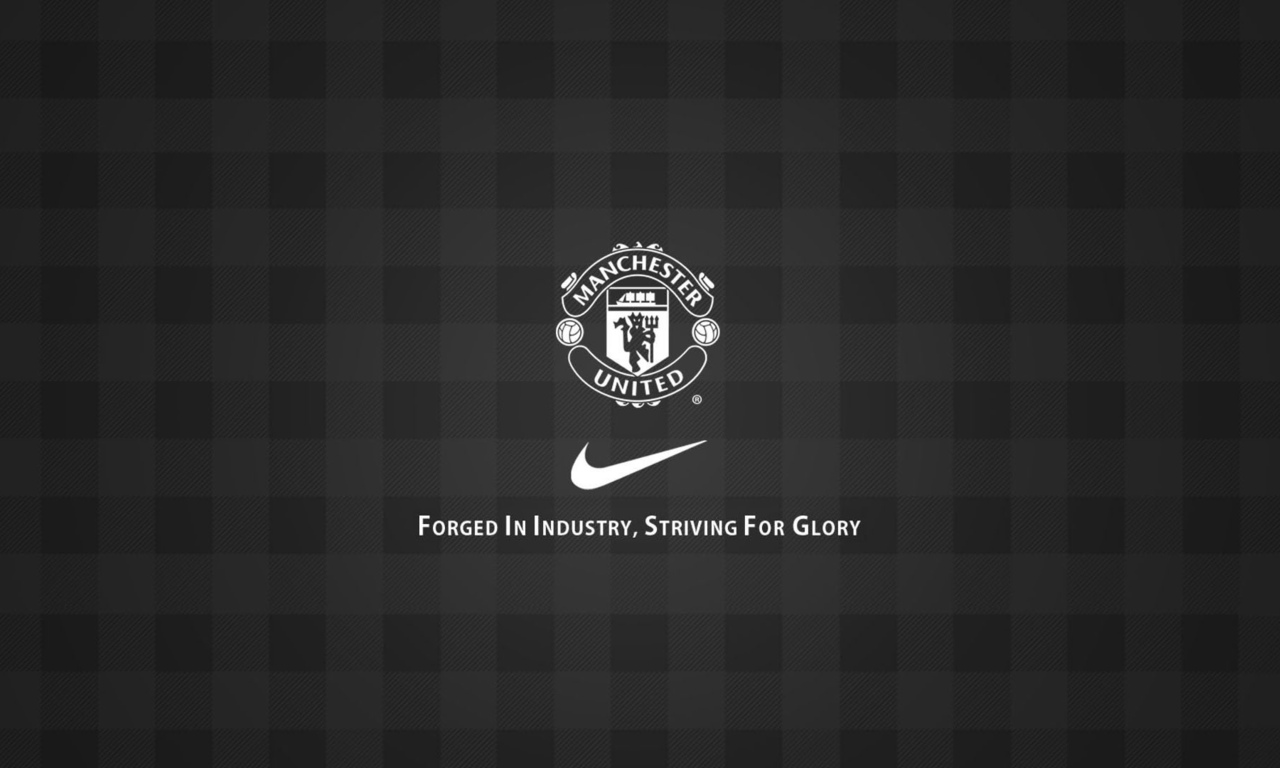 football, black, manchester united, red devil, gingham, texture, mu, soccer, nike