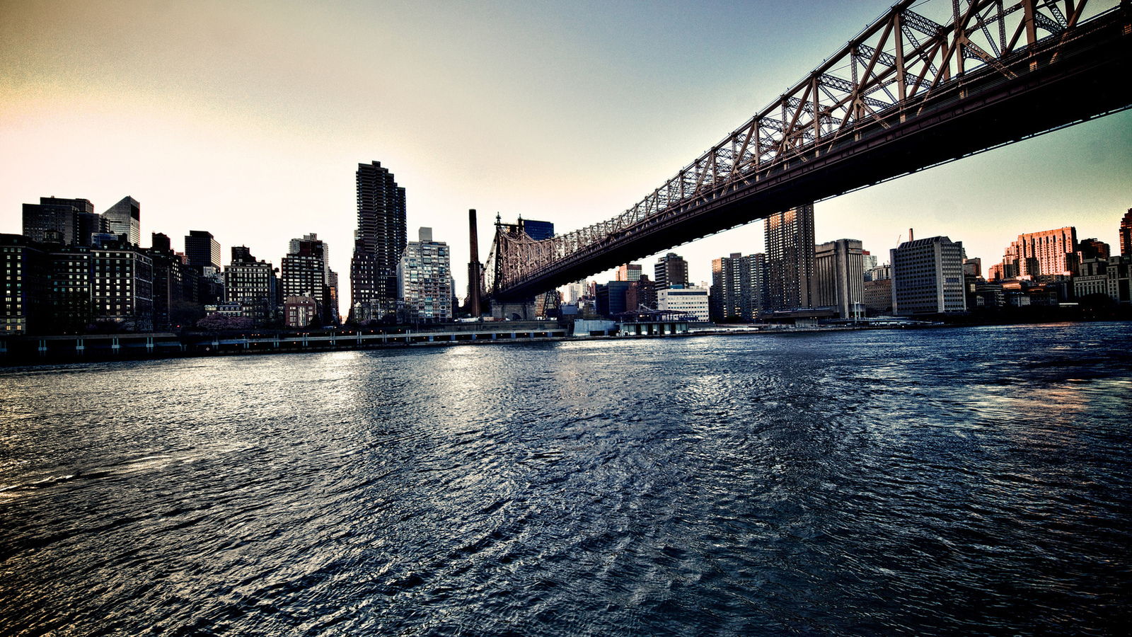 new york, us, queensborobridge, nyc