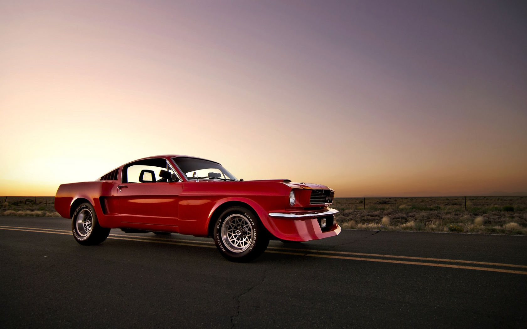 red, mustang, muscle car, мускул кар, front, форд, мустанг, ford