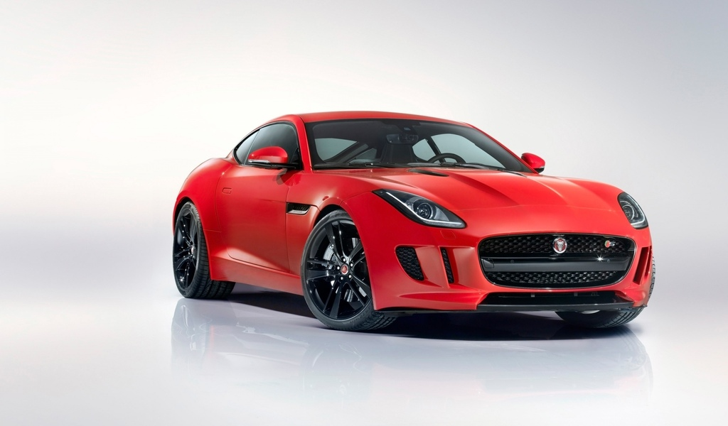 jaguar, f-type, jaguar, red, ягуар