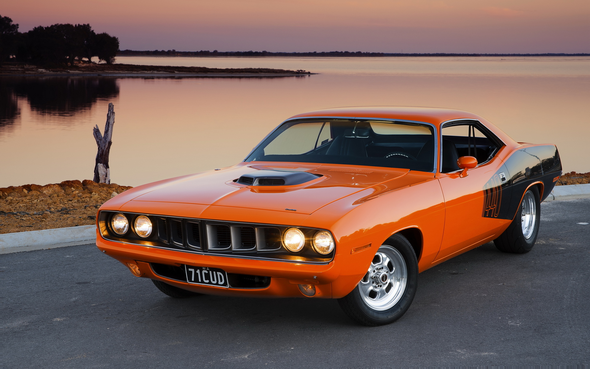 plymouth barracuda, muscle car, плимут, cuda