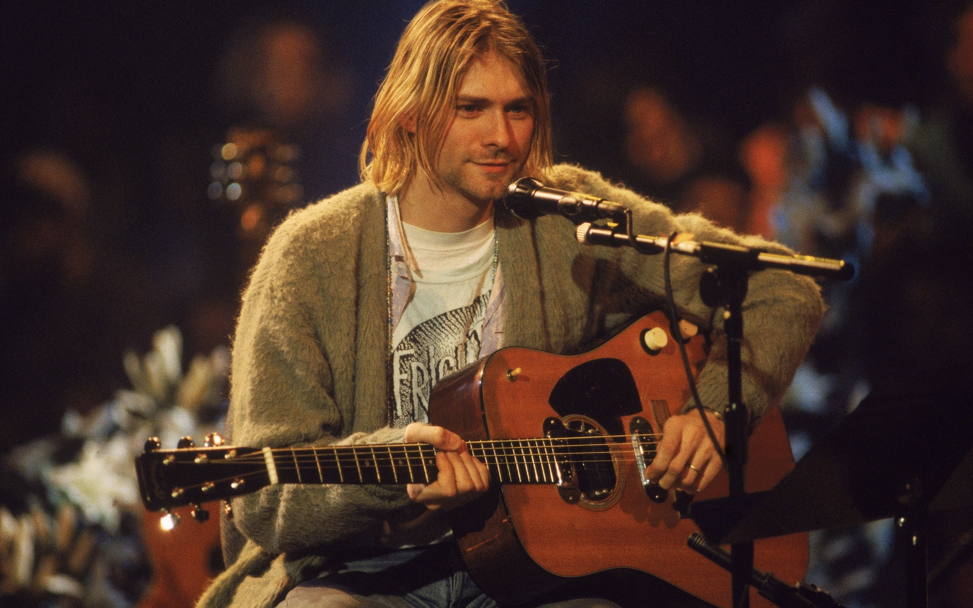 kurt cobain, nirvana, mtv unplugged in new york