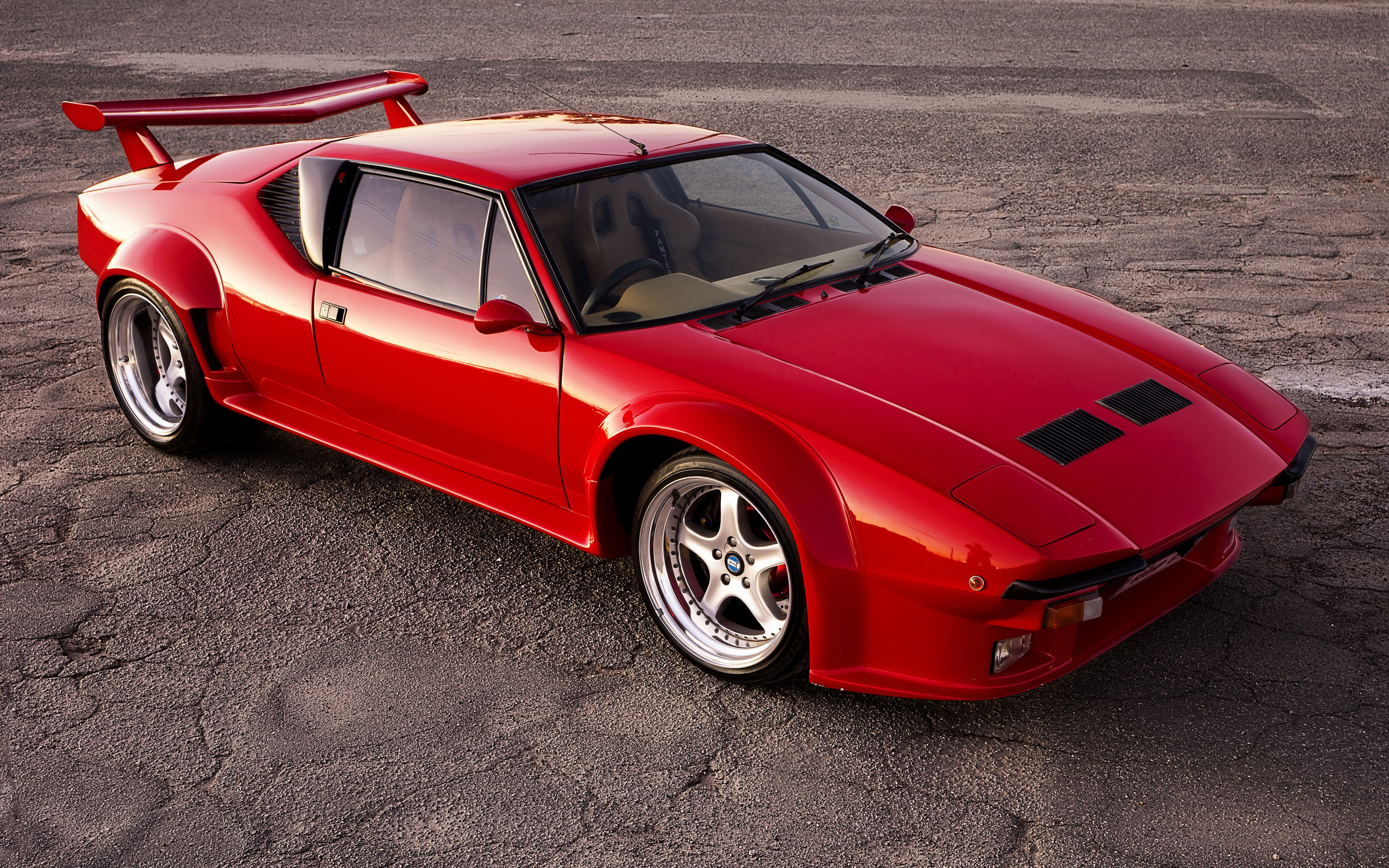 авто, car, red, de tomaso pantera, суперкар