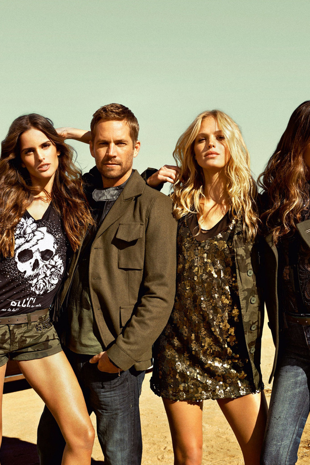 ft. izabel goulart, paul walker, thairine garcia, sebastian kim shoot, девушки, модели