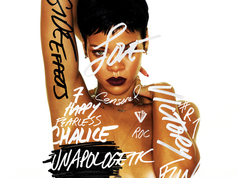 альбом, rihanna, album cover, актриса, певица, unapologetic, музыка