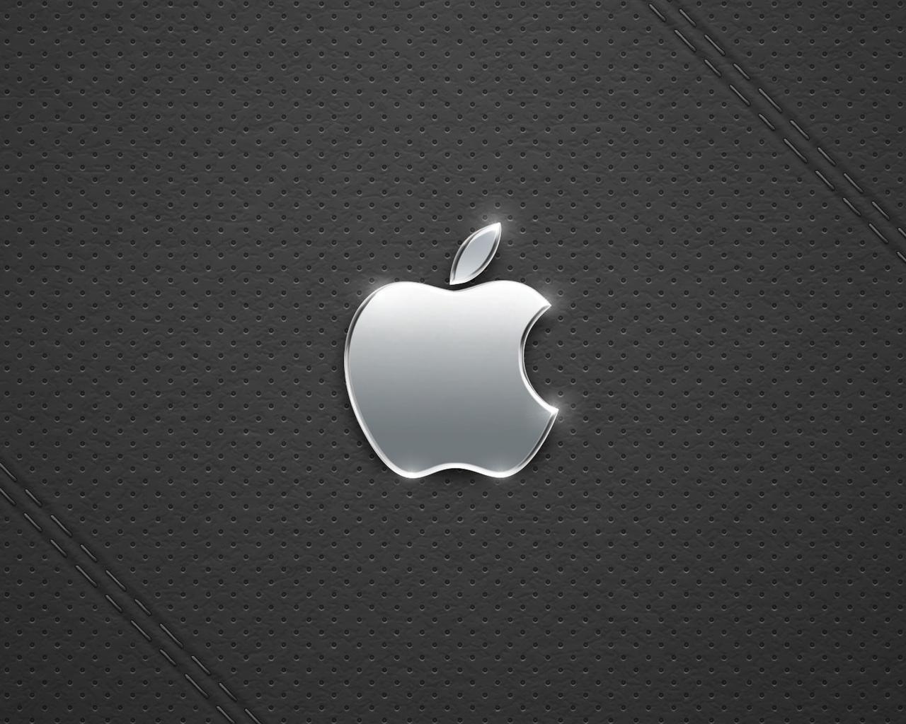 apple, metall, black