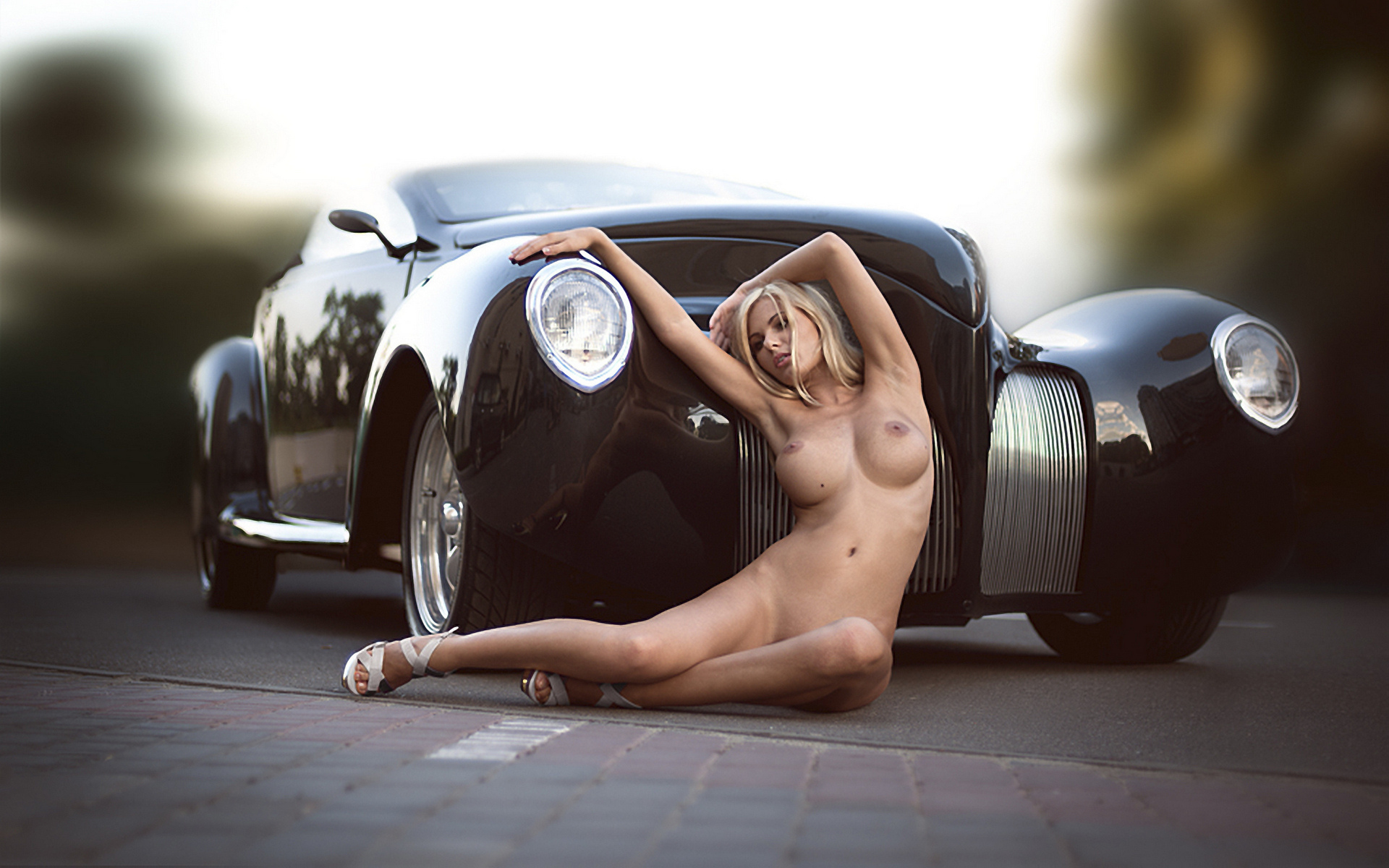 Nude car import girls, big natural cute porn