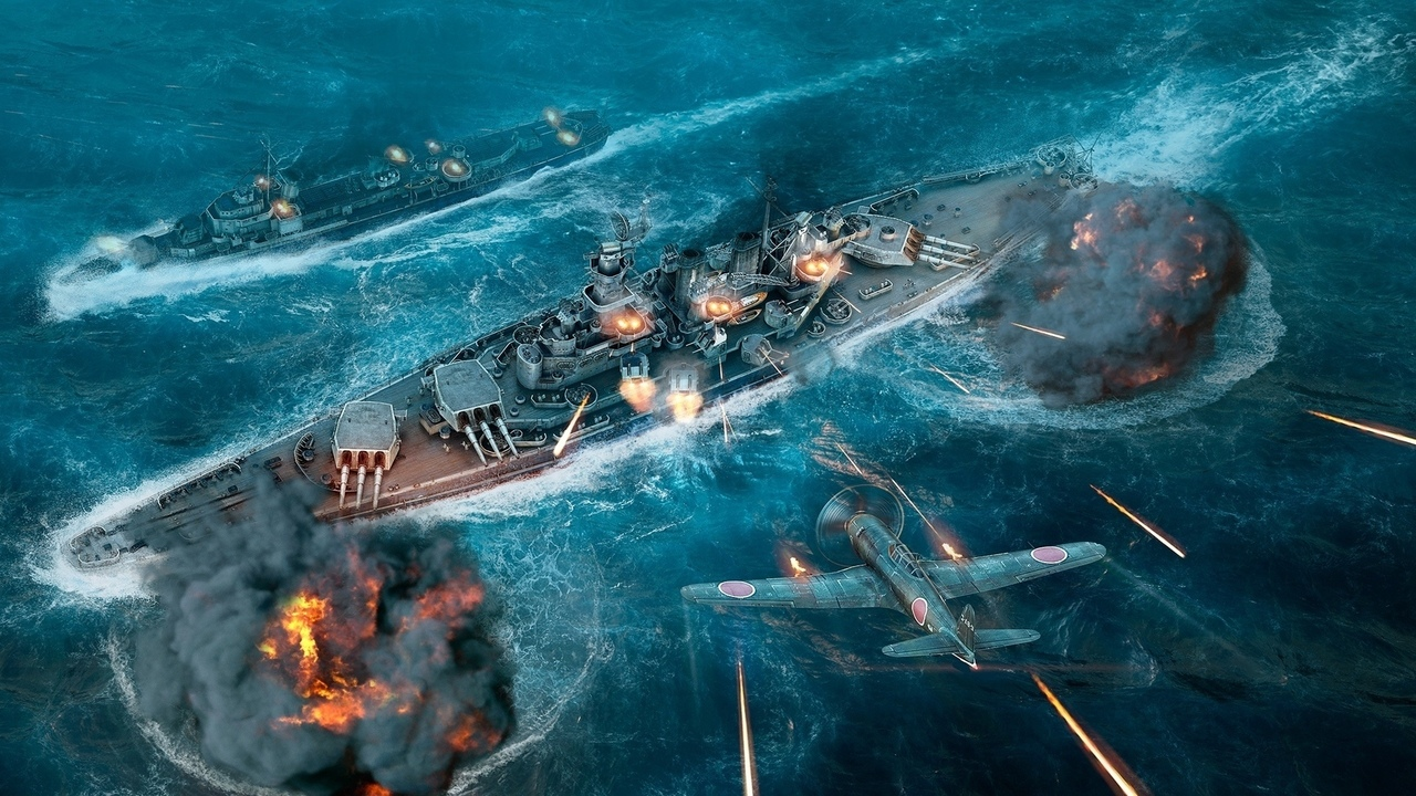 world of warships, корабли