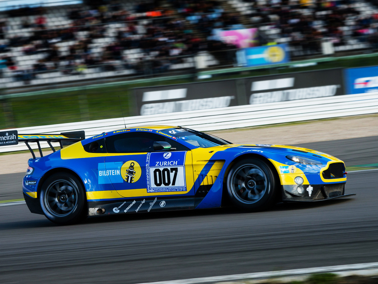 race car, aston martin v12 vantage gt3, autowallpaper, астон мартин