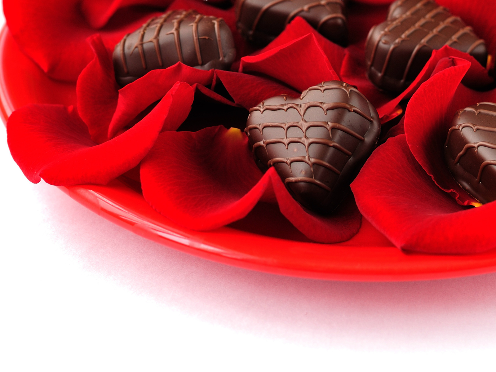 heart, holiday, chocolate, roses, конфеты, hearts, love, candy, розы, шоколад