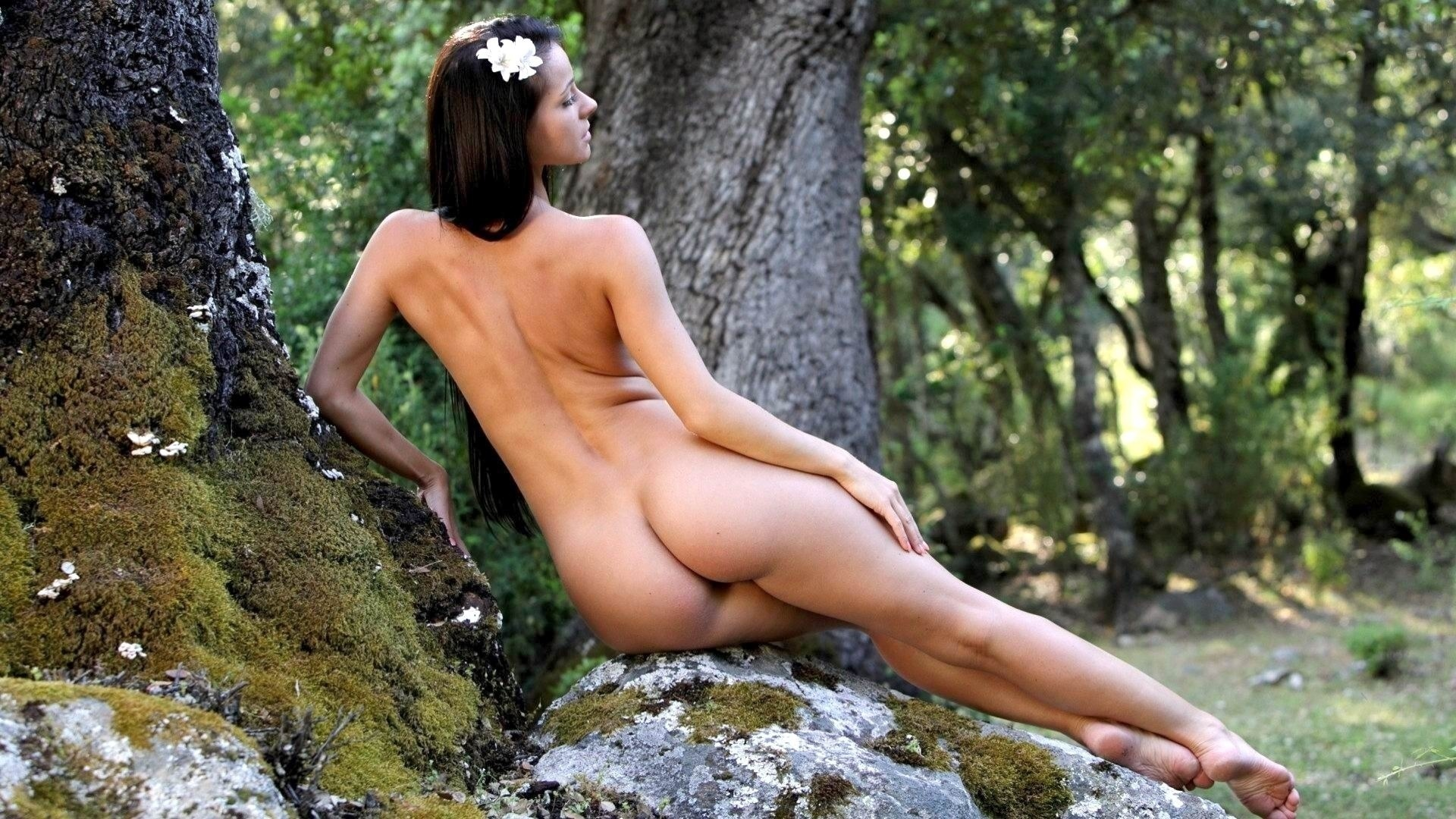 nude-girl-in-tree