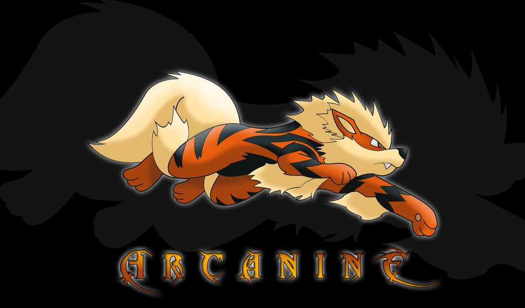 arcanine, pokemon