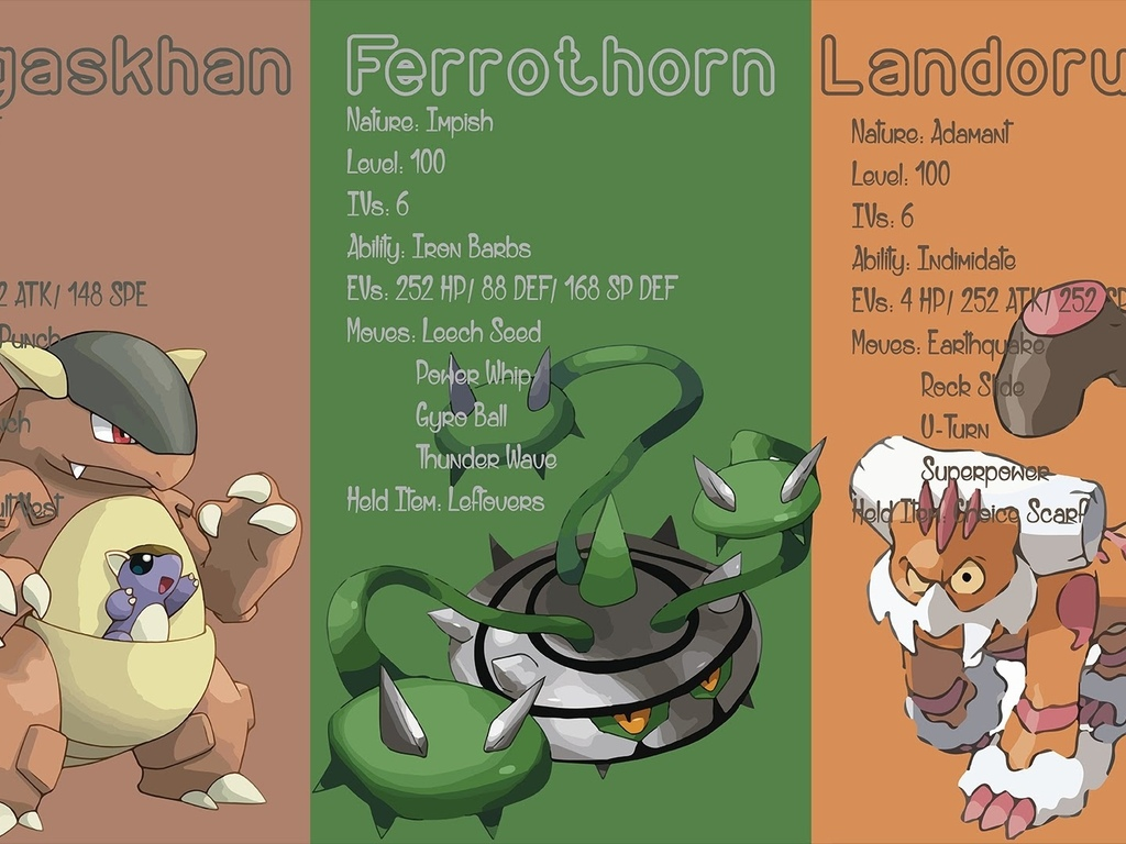 pokemon, ferrothorn