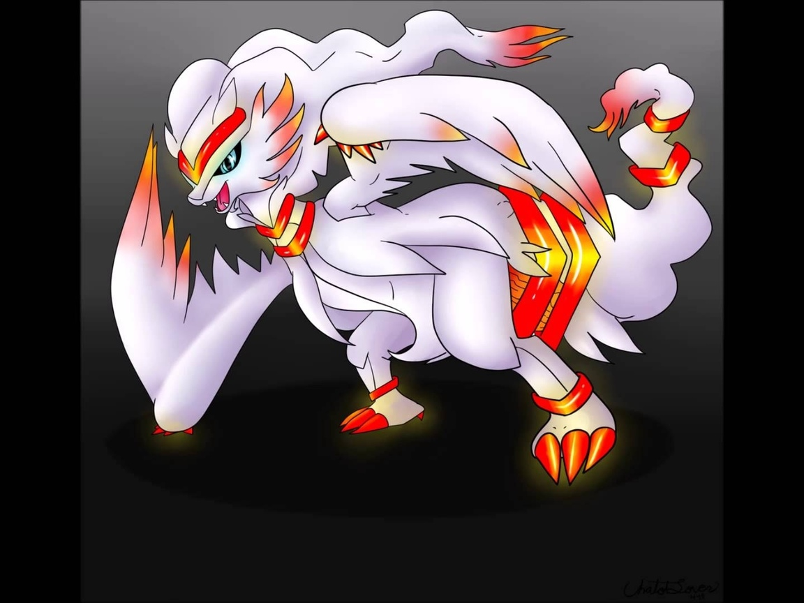 pokemon, reshiram