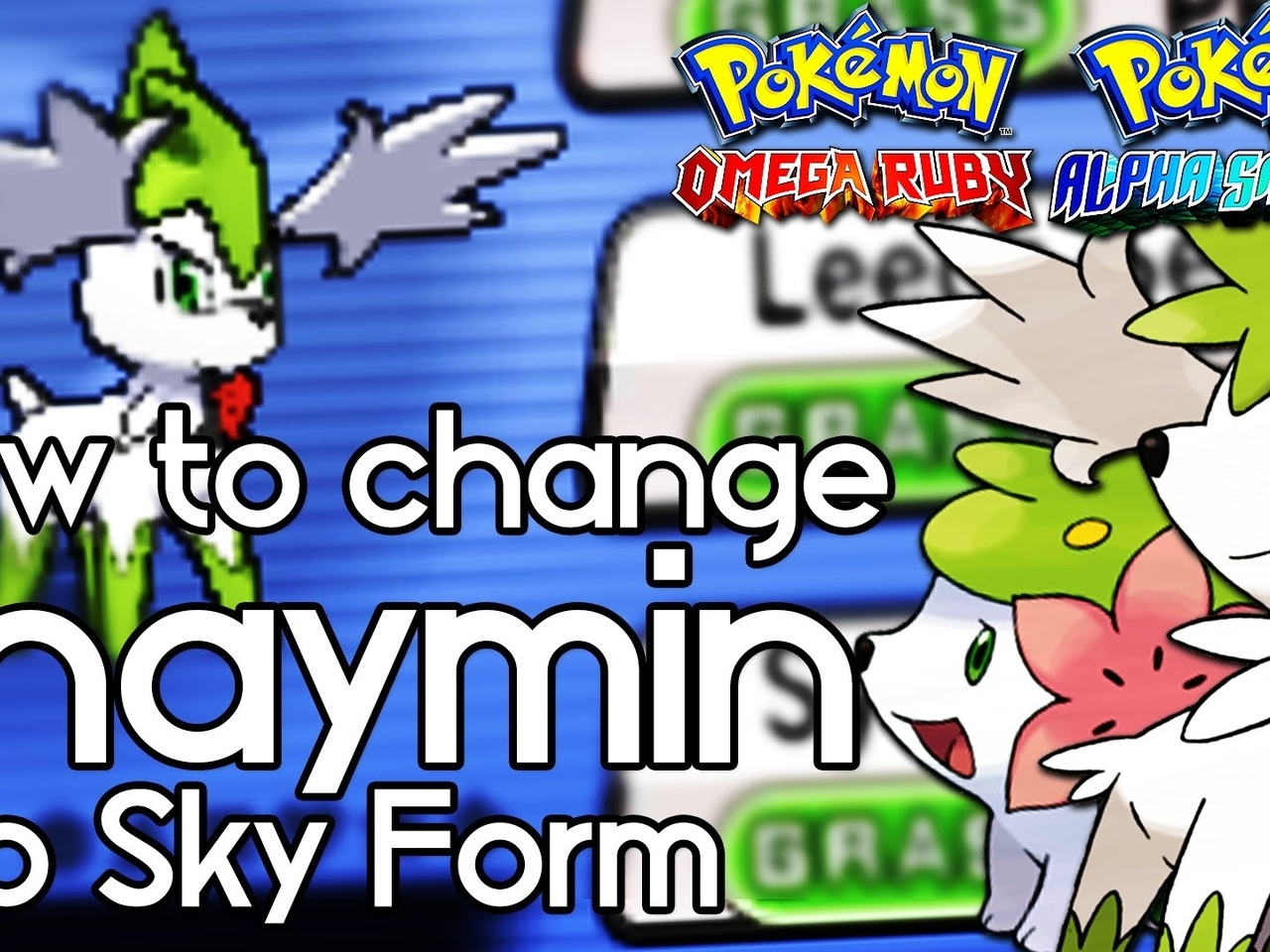 shaymin, pokemon