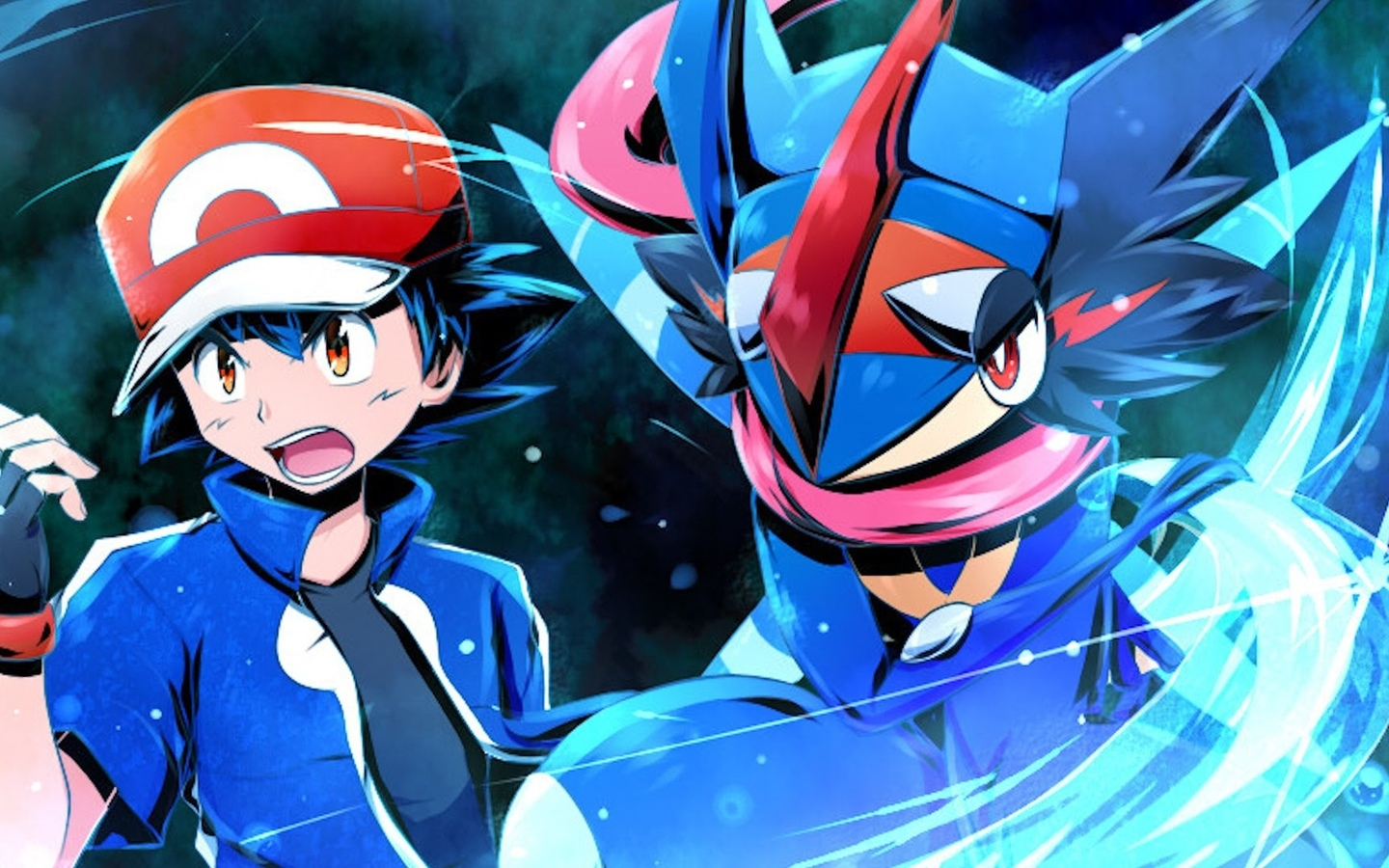 pokemon, greninja