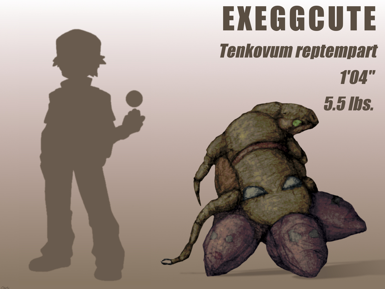 exeggcute, pokemon