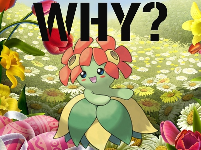 bellossom, pokemon