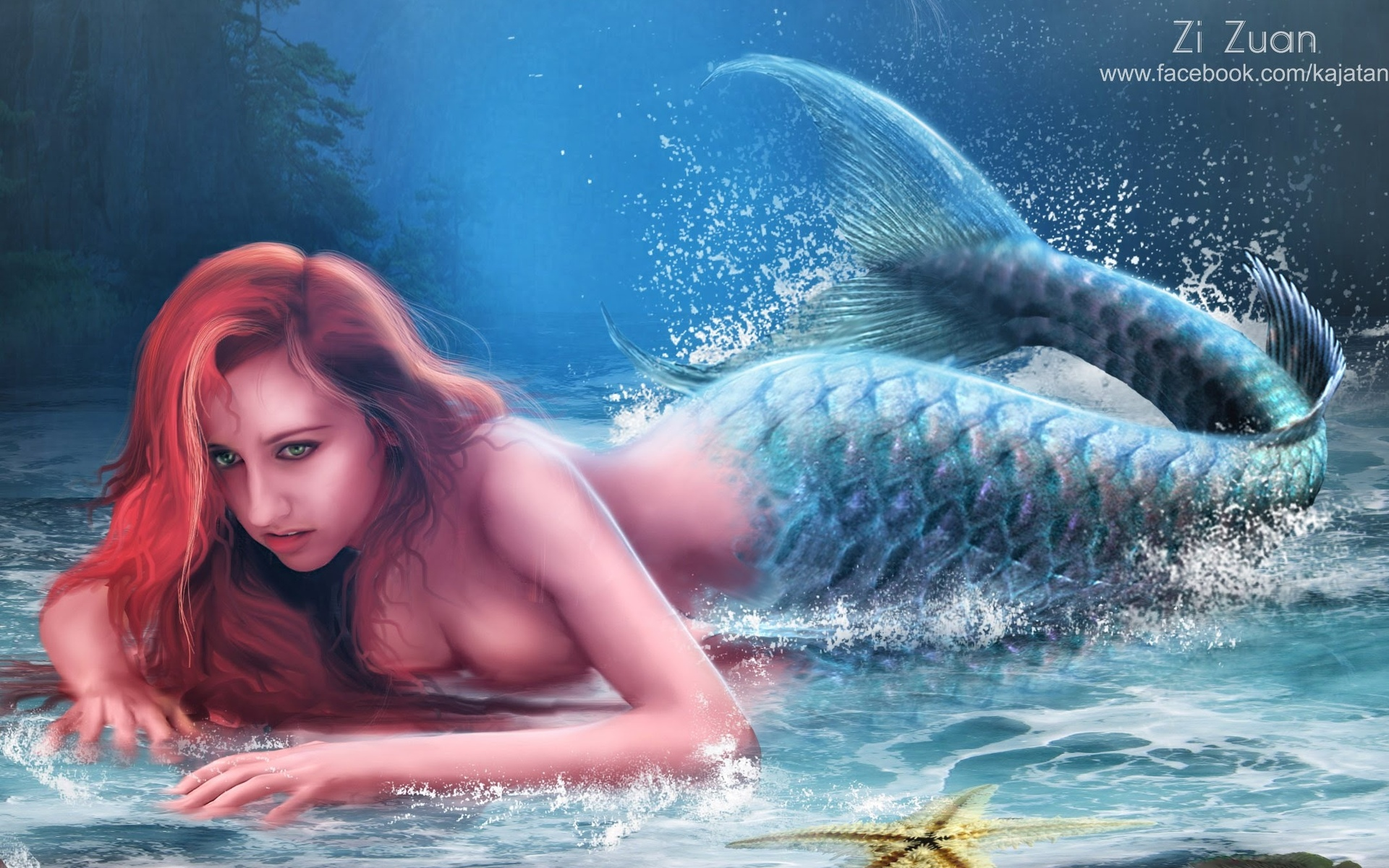 Sienna hot sexy naked mermaids into sex