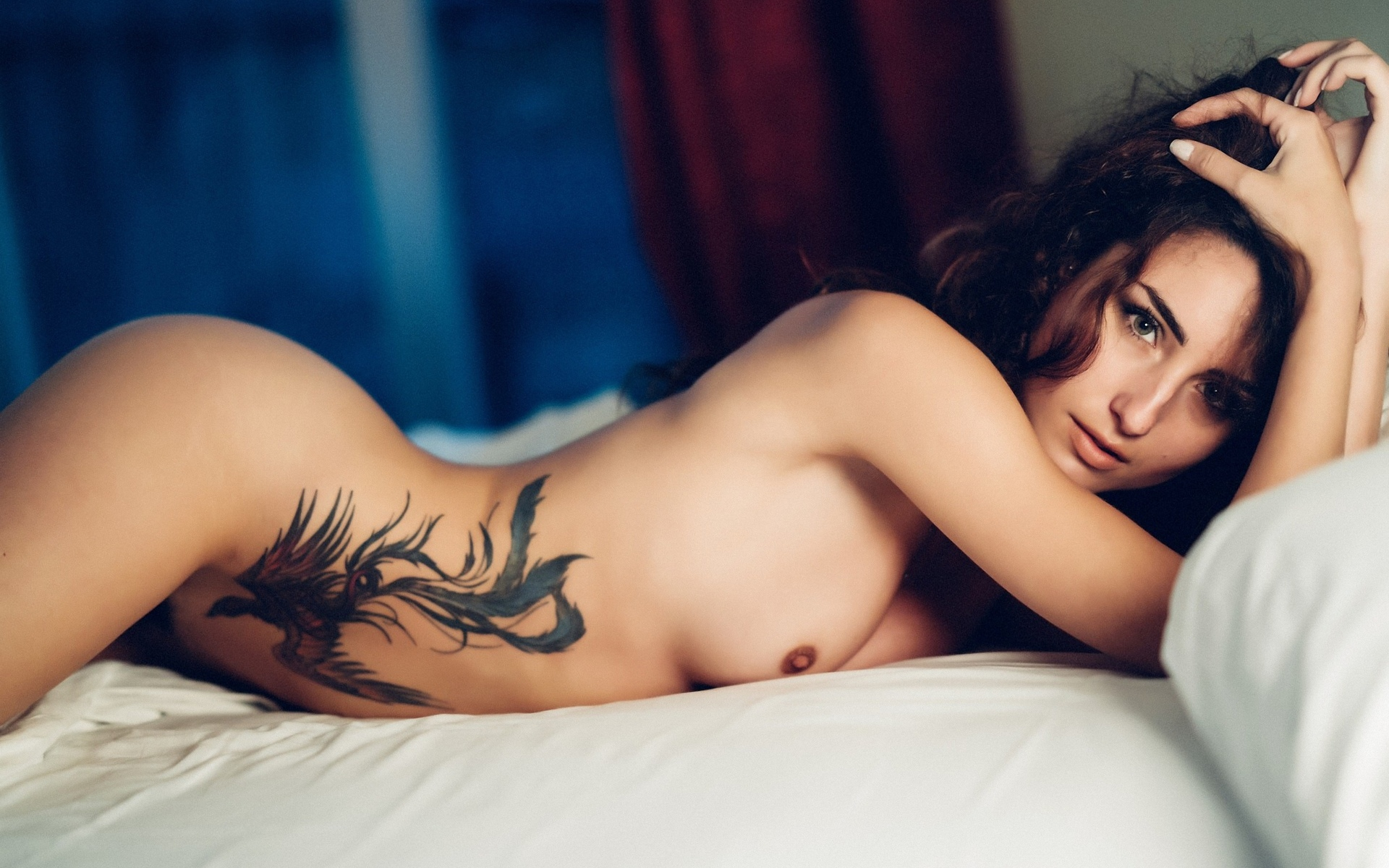 Nude Women With Tattoos Images, Stock Photos Vectors