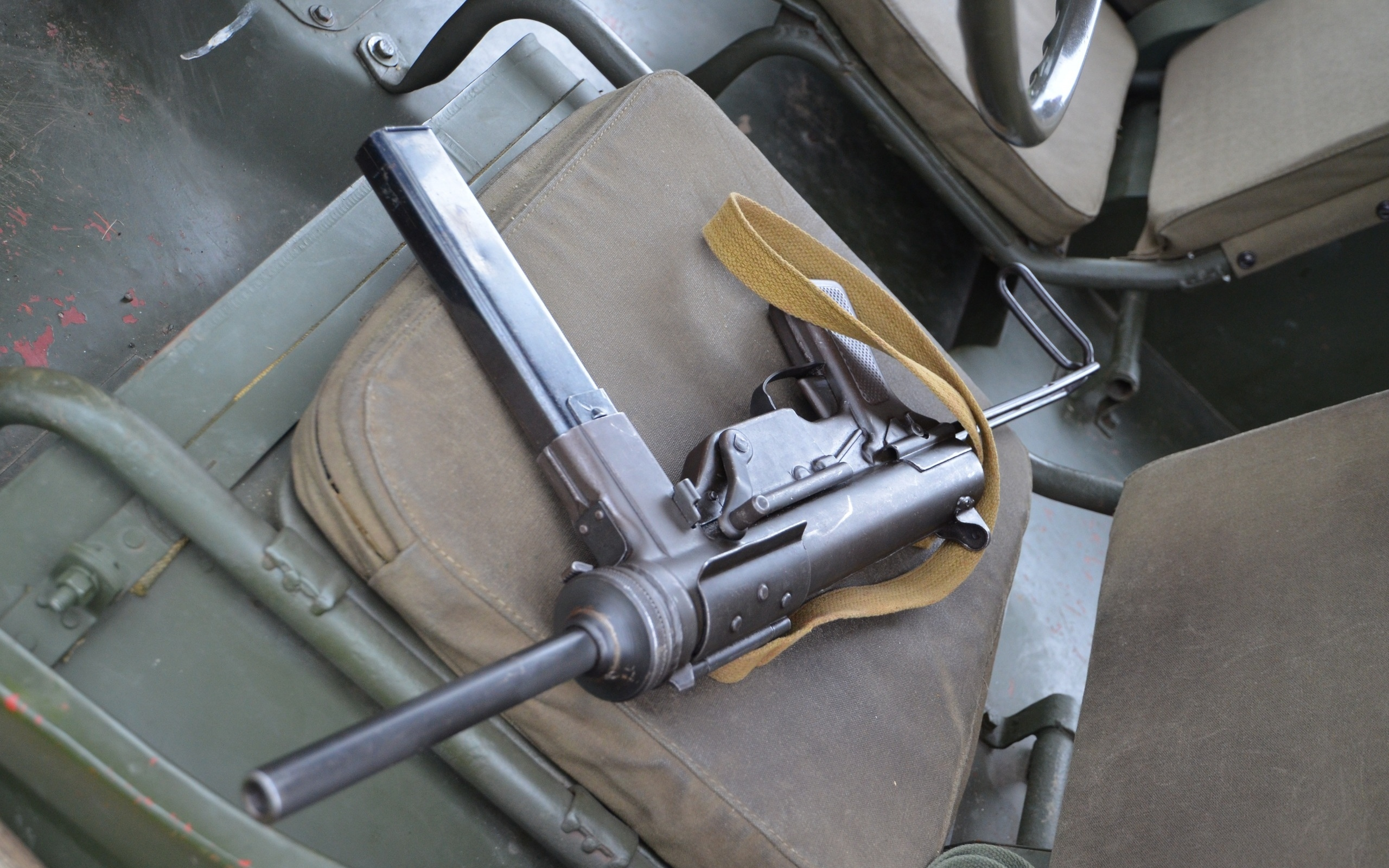 пистолет пулемёт, м3, submachine gun, grease gun, 45 acp