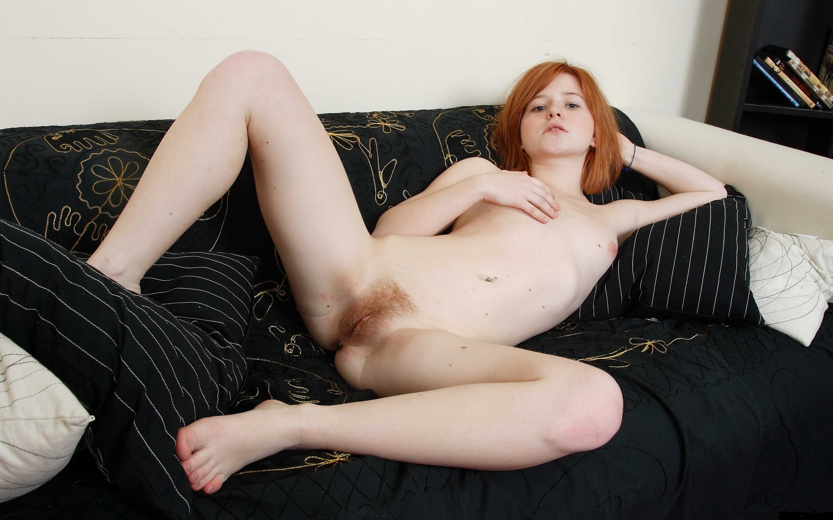 Painted nude red hair girls pics