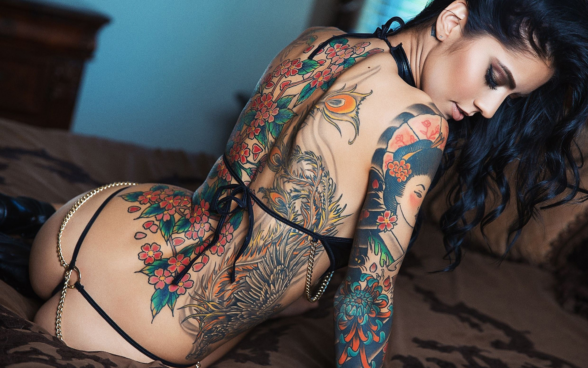 Hot tattoos on women nude #7