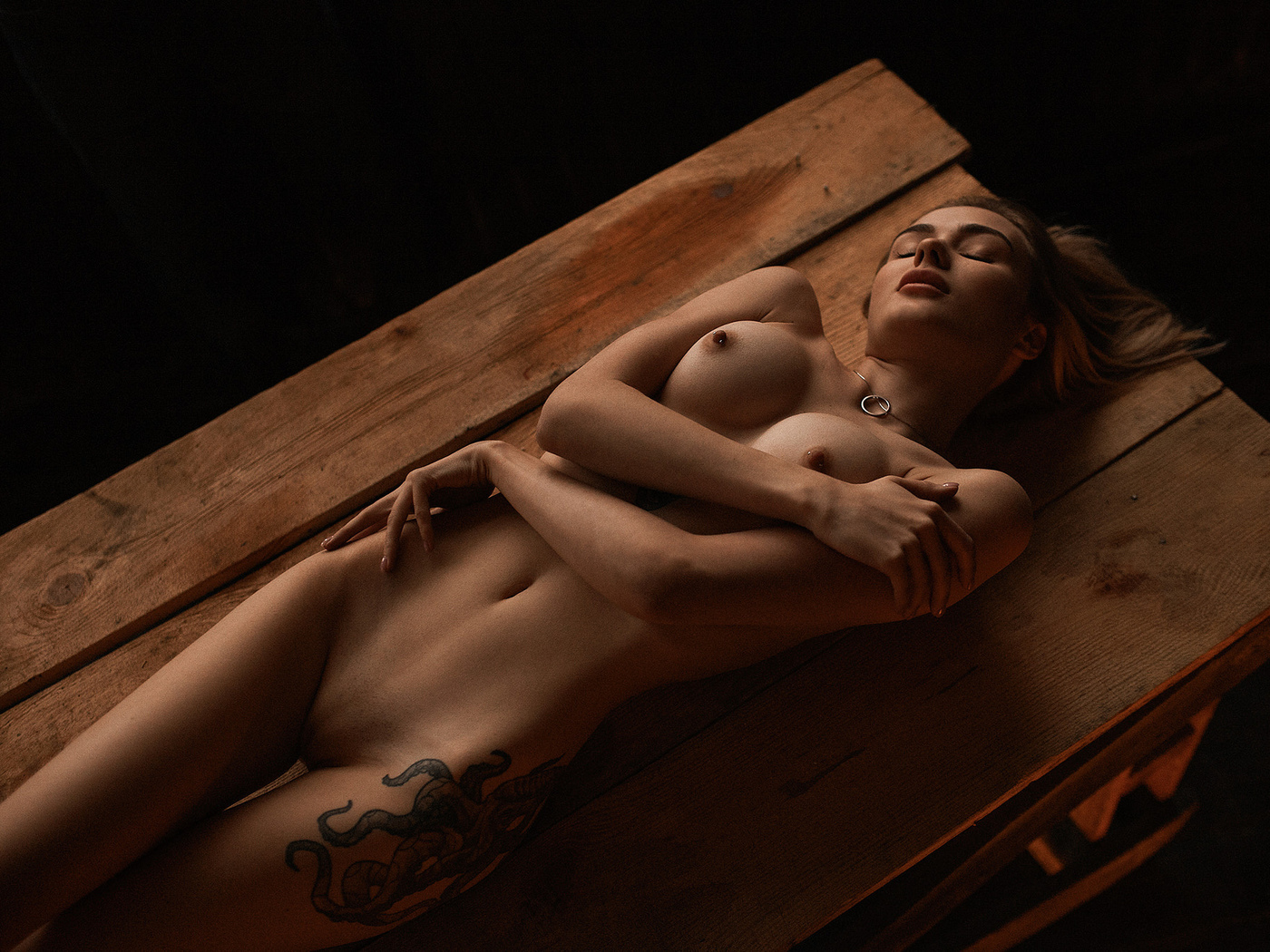 Nude blind woman pics