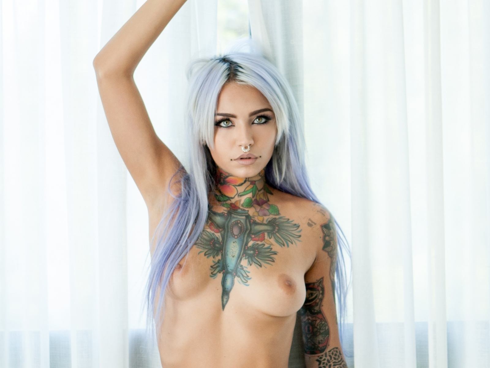 fishball, tits, tats