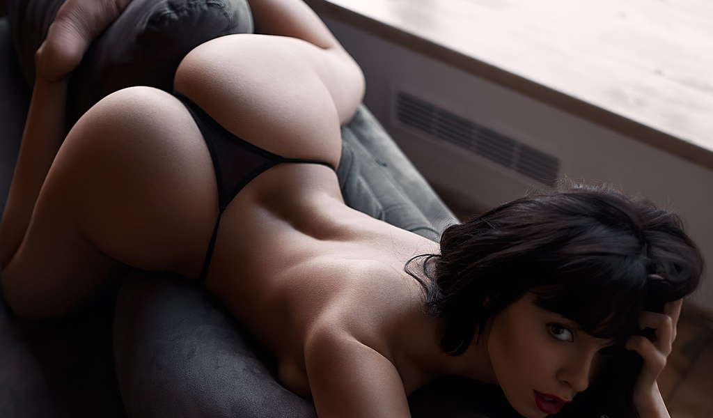 girl, cute, brunette, ass