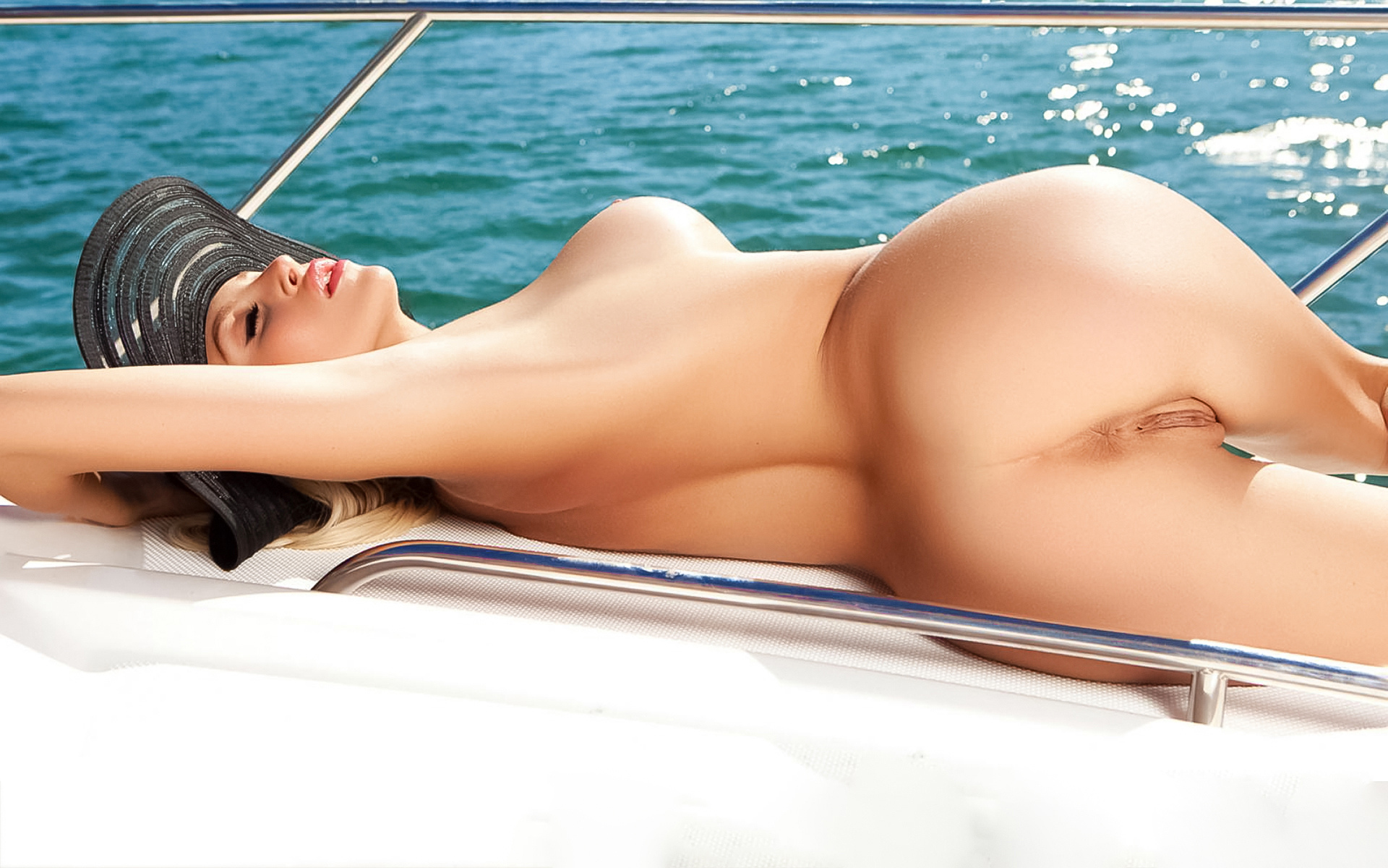 khloe terae, in hot on the, yacht