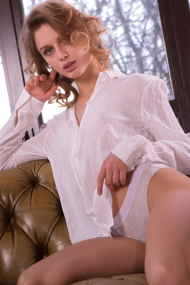 girl, white blouse