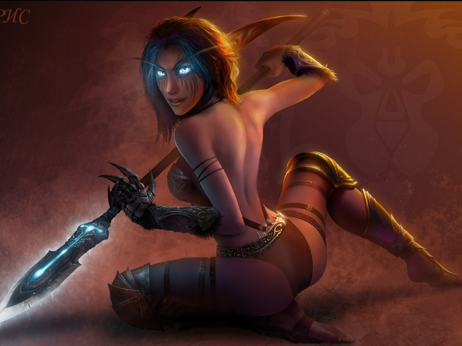 Captured elf girl porn image