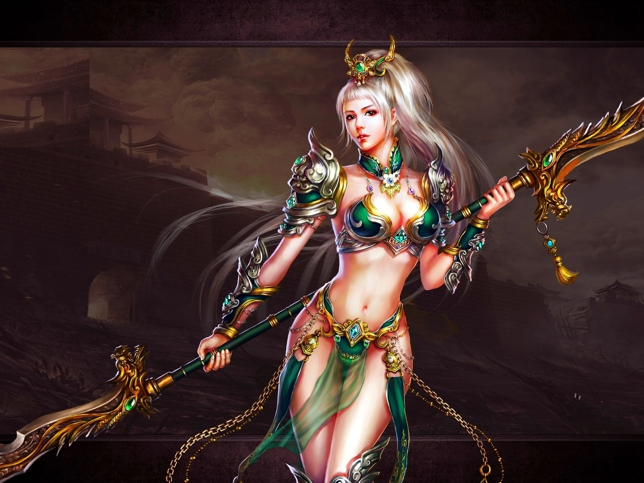 Dynasty warriors girls only nude rule naked scene